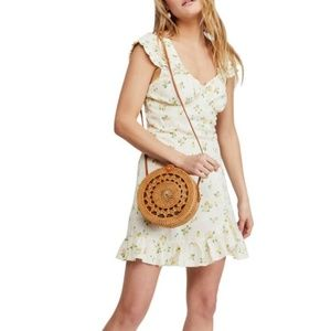 Free People NWT Mini Dress Boho Chic